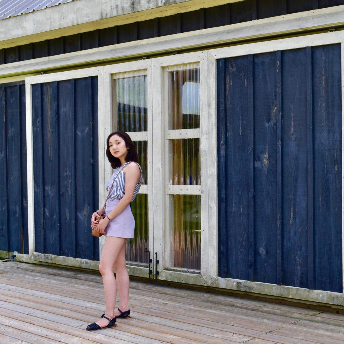 Terre Bleu Lavendar Farm storage shed