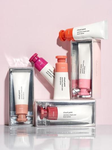 Cloud paint blushes My most recent blush obsession which gives a natural flush, like you just took a walk outside.