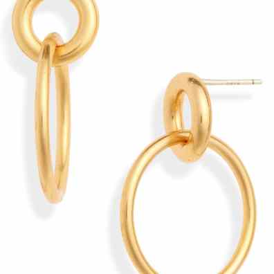 Madewell double hoop earrings