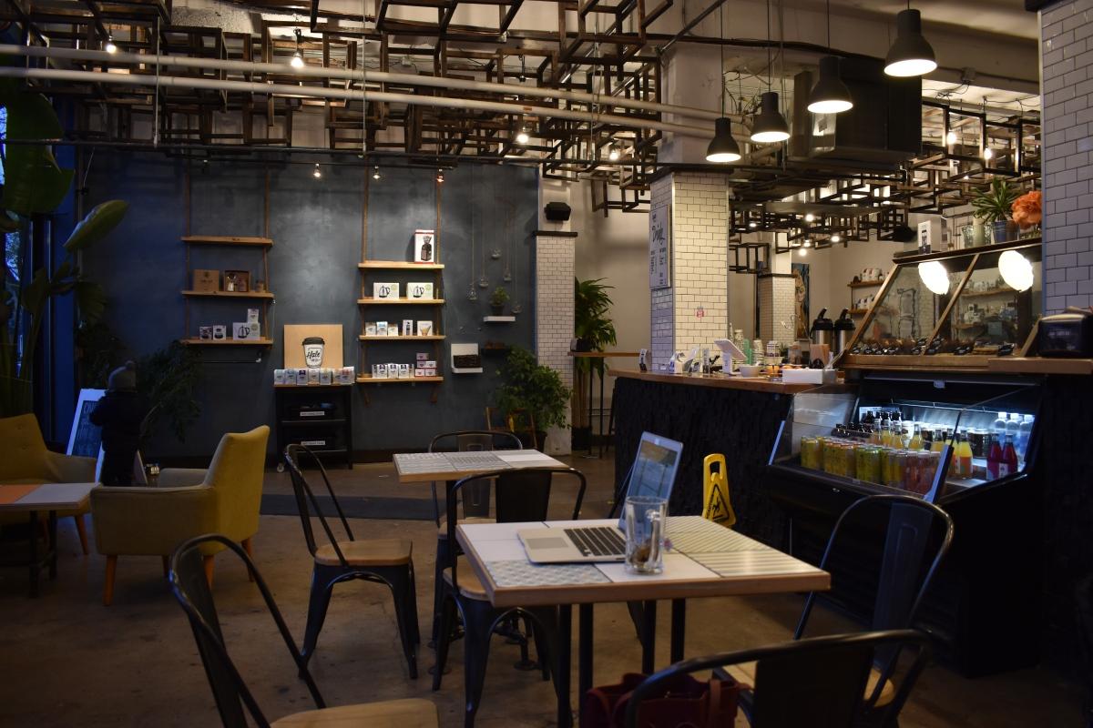 Hale cafe Toronto, coffee shop.