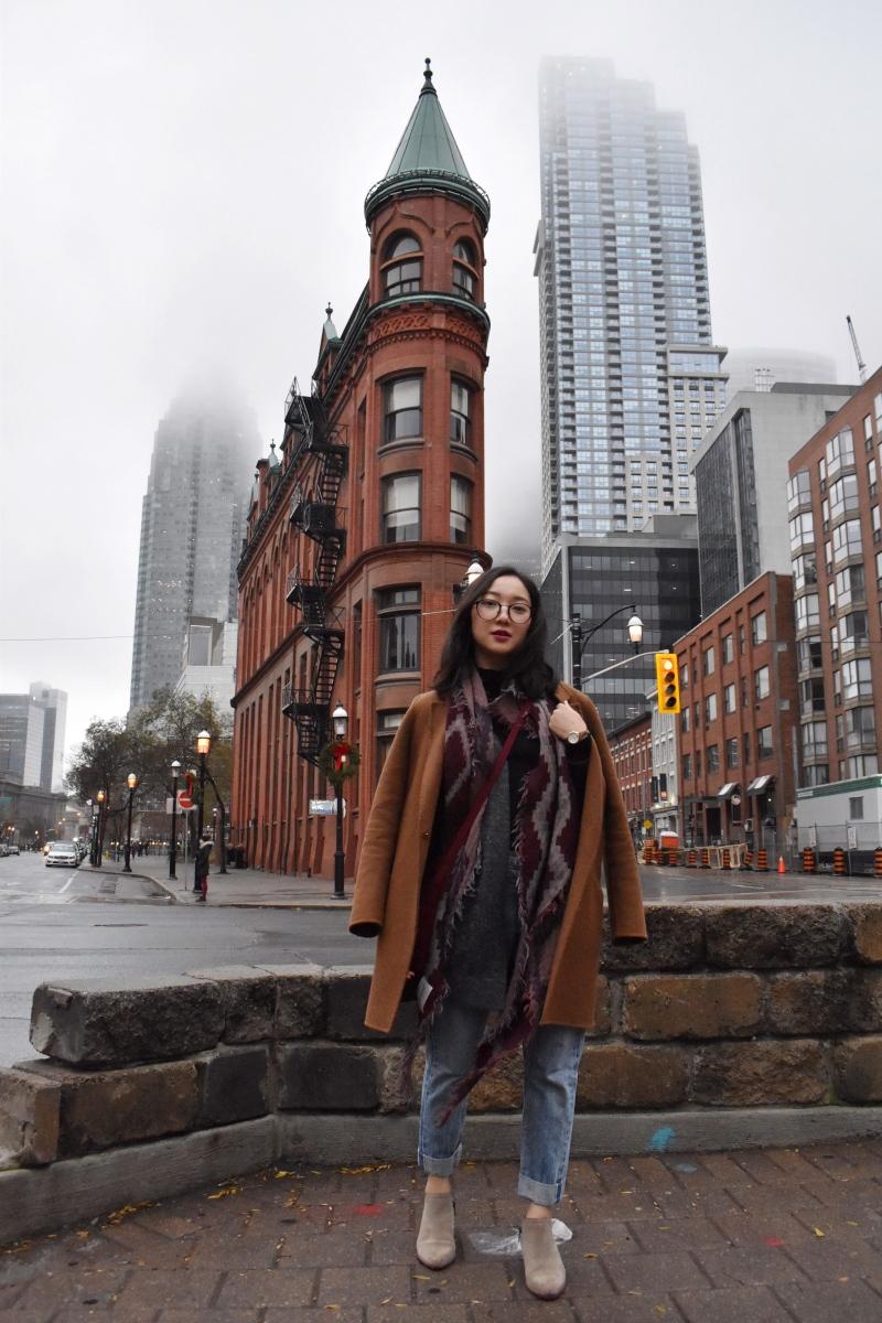 Near St. Lawrence Market in Toronto