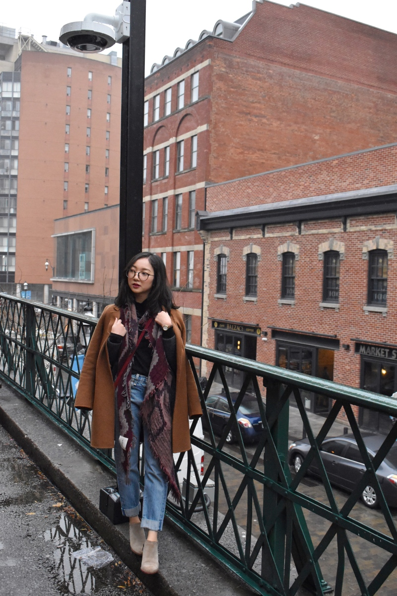 Ootd at St. Lawrence Market Toronto.