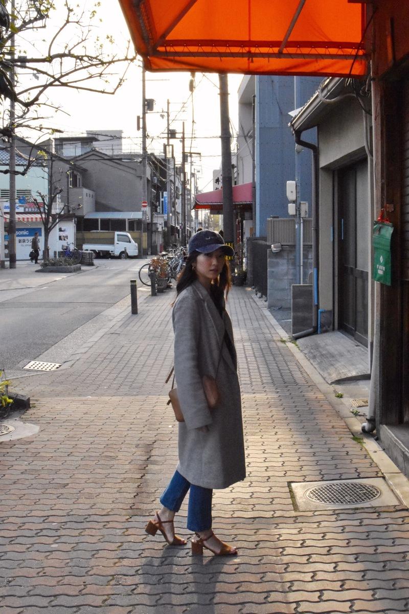 Japan, koenji, tokyo, ootd, casual chic vibe, bad hair day cap