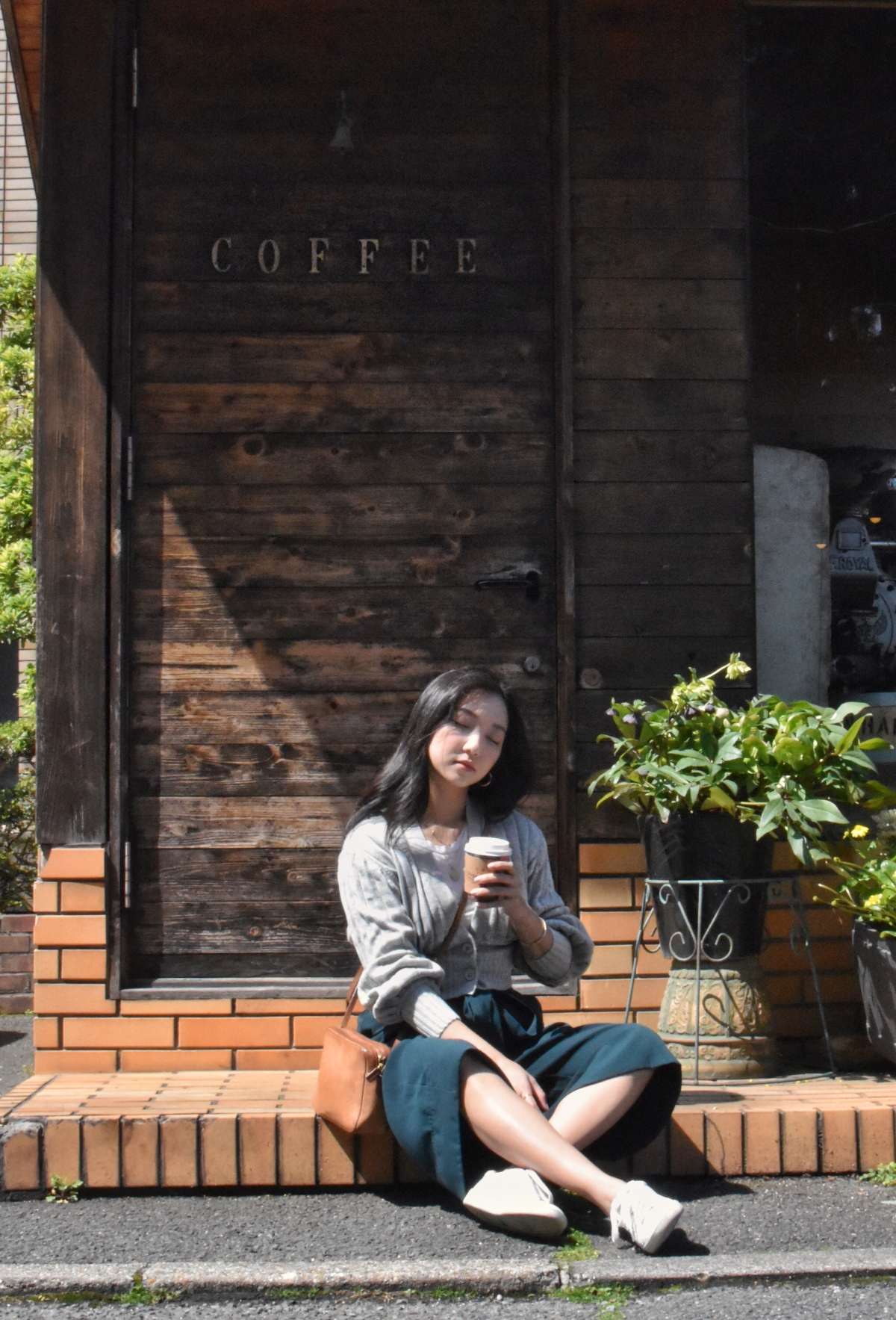 Morning coffee, japan, ootd